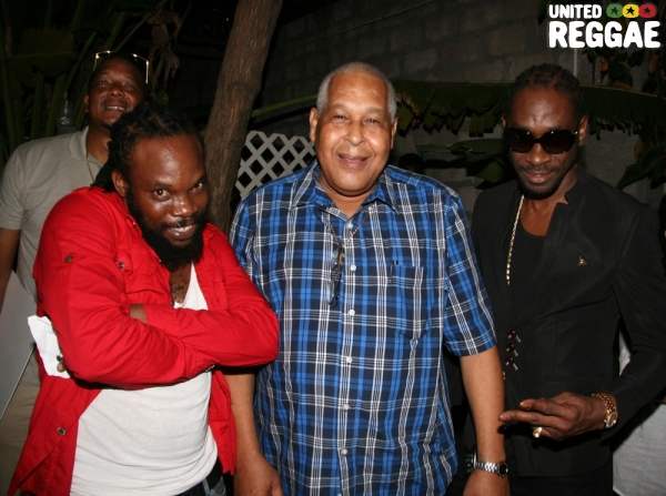 Bushman, King Jammy & Bounty Killer © Steve James