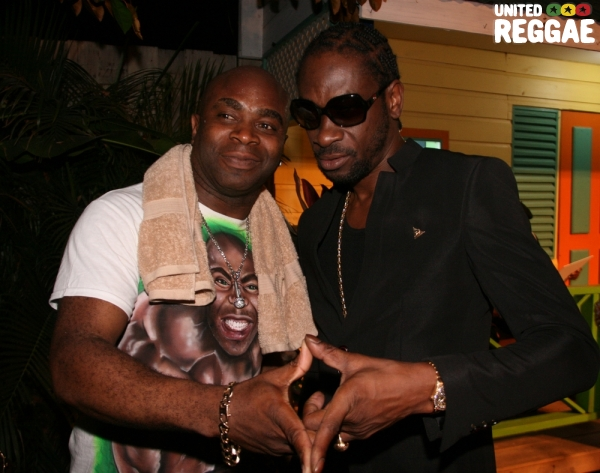 Mixmaster J and Bounty Killer © Steve James