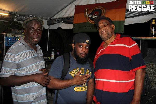 Tony Screw, DJ Short Mike & Emperor Faith © Steve James