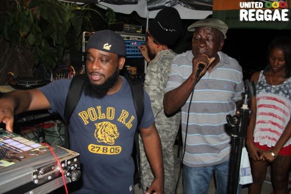 DJ Short Mike & Tony Screw © Steve James