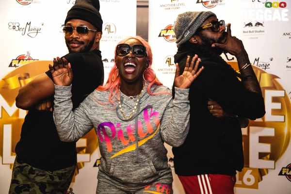 Assassin, Spice and Tarrus Riley © Robbie Golec