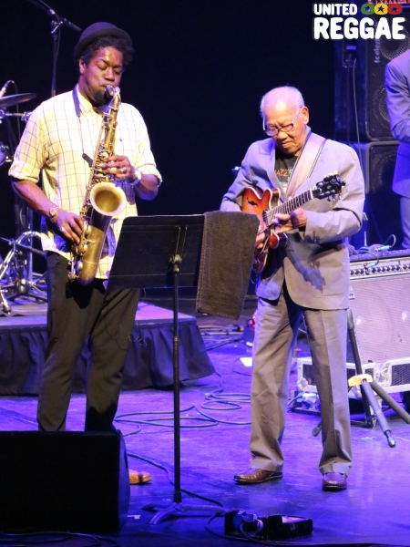 Ernest Ranglin and Soweto Kinch © Veronique Skelsey