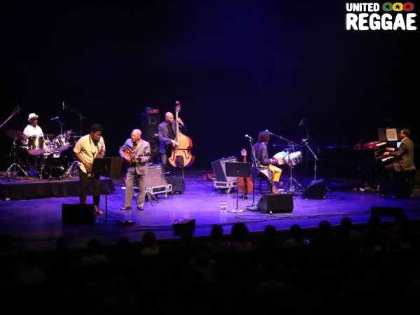 Ernest Ranglin and friends © Veronique Skelsey