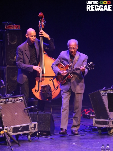 Ernest Ranglin and Ira Coleman © Veronique Skelsey