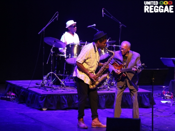 Tony Allen, Ernest Ranglin and Soweto Kinch © Veronique Skelsey