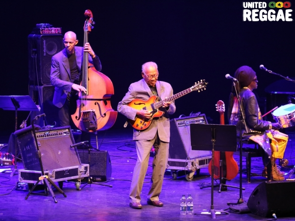 Ira Coleman, Ernest Ranglin and Cheikh Lo © Veronique Skelsey