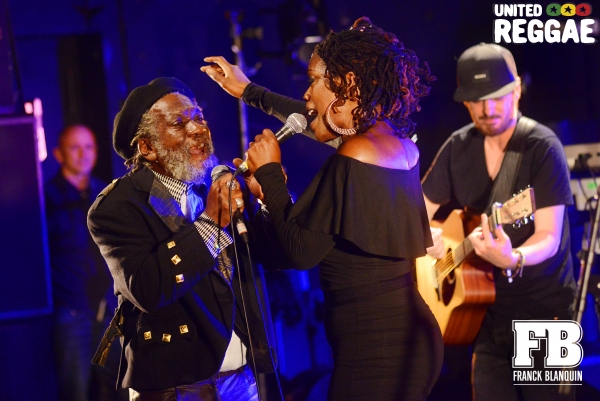 Olivia Flowers and Winston McAnuff © Franck Blanquin