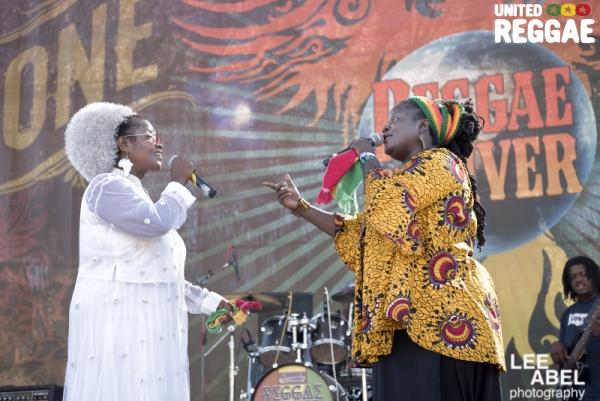 Sister Carol & Nakeeba Amaniyea © Lee Abel
