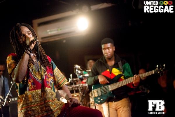 Kabaka Pyramid & The Bebble Rockers © Franck Blanquin