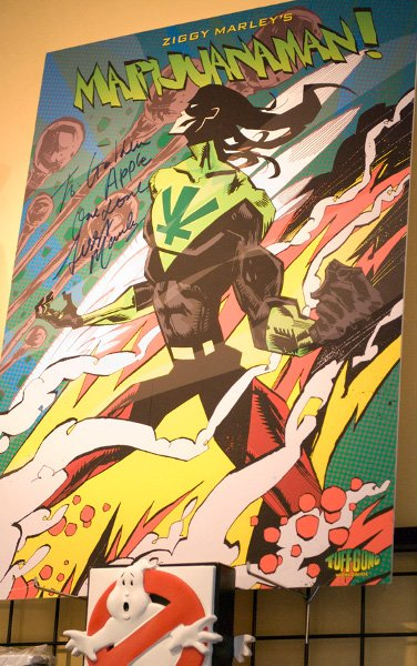 Marijuanaman Poster © Jan Salzman