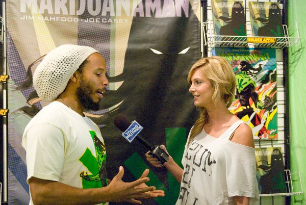 Ziggy Marley interview © Jan Salzman