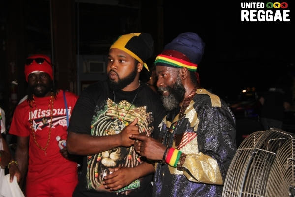 Capleton & fan © Steve James