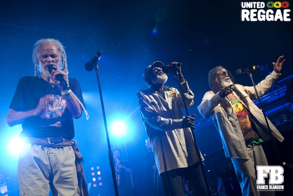 Cedric Myton, Kenroy Fyffe and Roy Ashanti Johnson / The Congos © Franck Blanquin