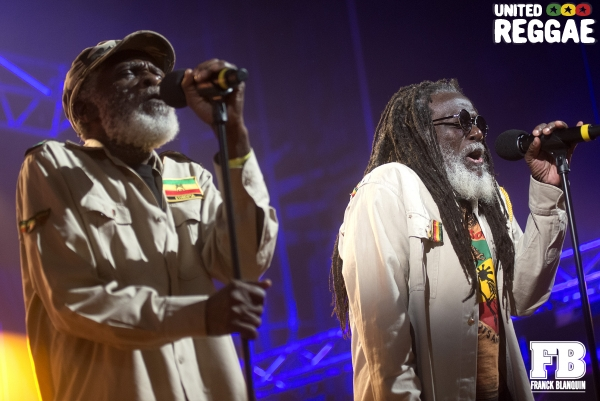 Kenroy Fyffe and Roy Ashanti Johnson / The Congos © Franck Blanquin
