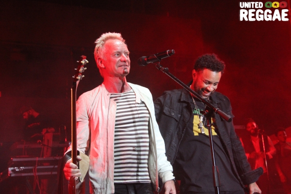 Sting and Shaggy © Steve James