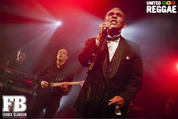 Ken Boothe & The Homegrown Band © Franck Blanquin