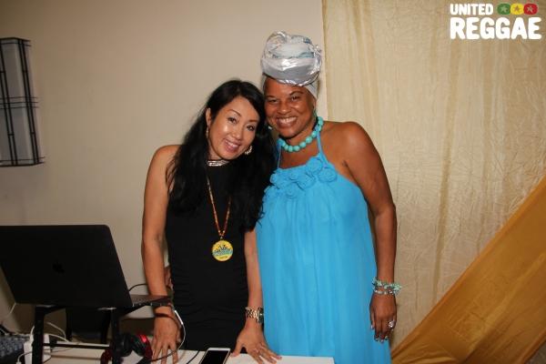 DJ Yumi & artiste manager Bridgett Anderson © Steve James