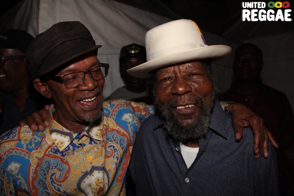 Beres Hammond & U Roy © Steve James