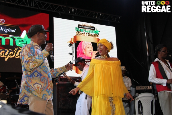 Beres Hammond & Marcia Griffiths © Steve James