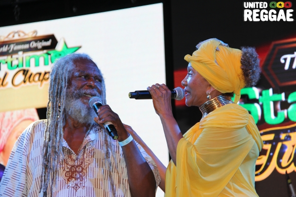 Bob Andy & Marcia Griffiths © Steve James