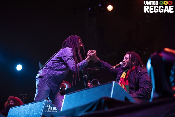 Julian & Stephen Marley © Lee Abel