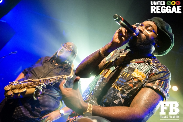 Tarrus Riley and Dean Fraser © Franck Blanquin