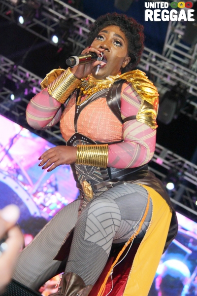 Reggae Sumfest 2018 - Dancehall Night, Spice © Steve James