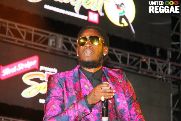 Reggae Sumfest 2018 - Dancehall Night, Aidonia © Steve James