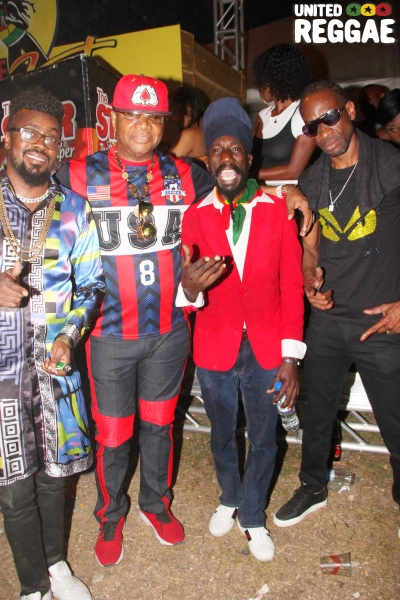 Beenie Man, Copeland Forbes, Sizzla, Bounty Killer © Steve James