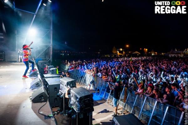 Rototom 2018, Kabaka Pyramid & The Bebble Rockers © Luca Valenta