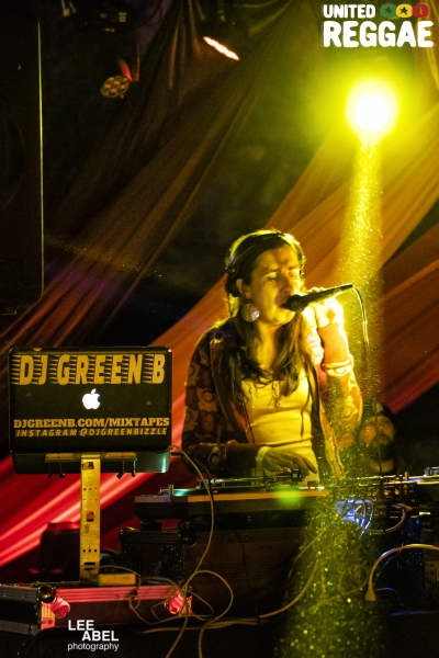 DJ Green B © Lee Abel