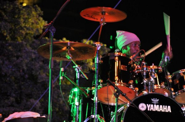 Squidly Cole on drums © Gail Zucker