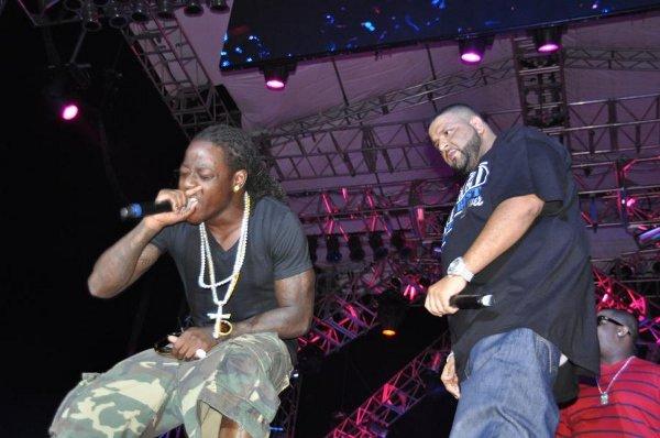 Ace Hood and DJ Khaled © Gail Zucker