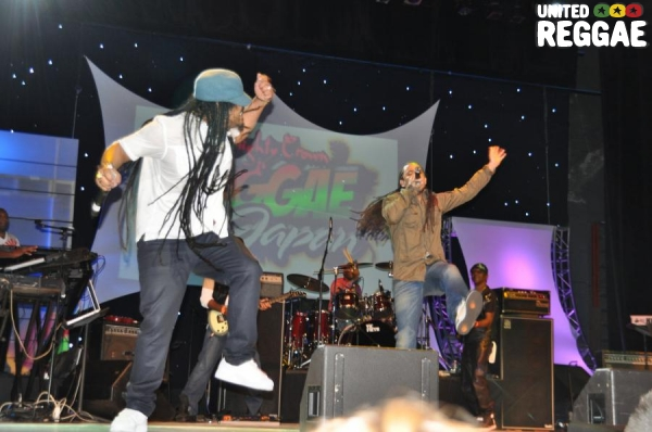 Maxi Priest & Ziggi Recado © Gail Zucker