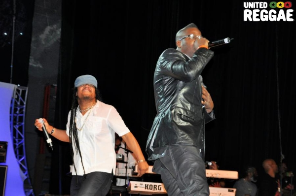 Maxi Priest & Beniton The Menace © Gail Zucker