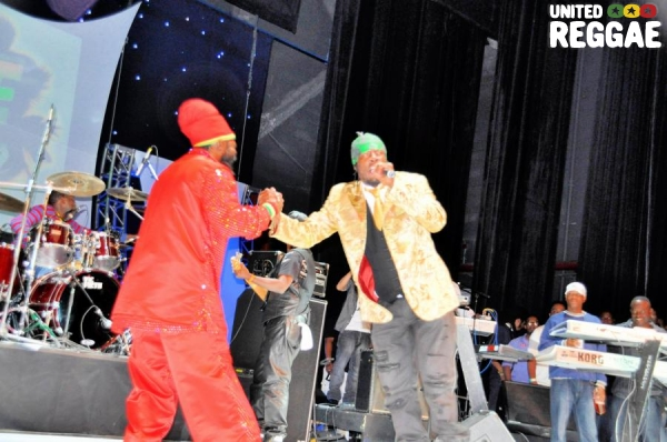 Capleton & Shabba Ranks © Gail Zucker