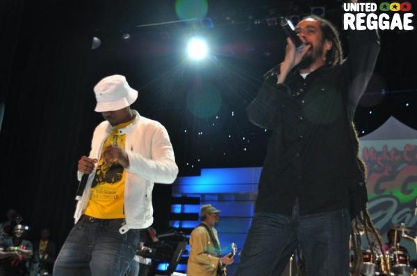 Damian Marley & Nas © Gail Zucker