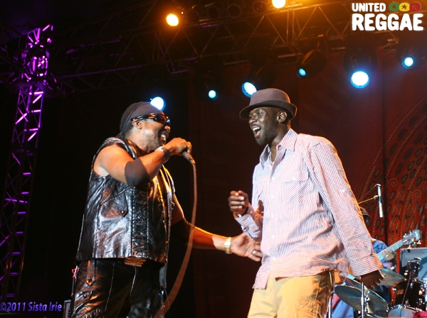 Toots Hibbert and Junior Toots © Sista Irie