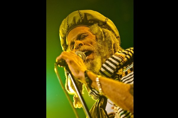 The Congos - Cedric Myton © Michael Grein