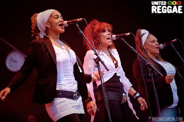 Background singers © Michael Grein
