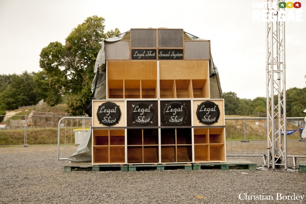 Legal Shot sound system © Christian Bordey