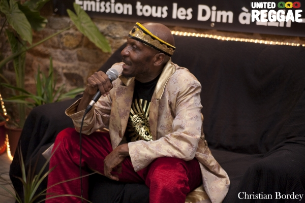 Jimmy Cliff interview © Christian Bordey