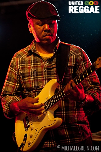 Duane Stephenson backing band © Michael Grein