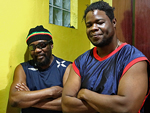 Reggae Articles: Interview: Toots Hibbert and his grandson King Trevy in Kingston