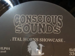 Reggae Articles: Ital Horns - Showcase Vol. 1 At Conscious Sounds