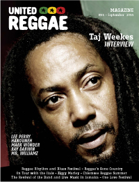 United Reggae Magazine #11 - September 2011