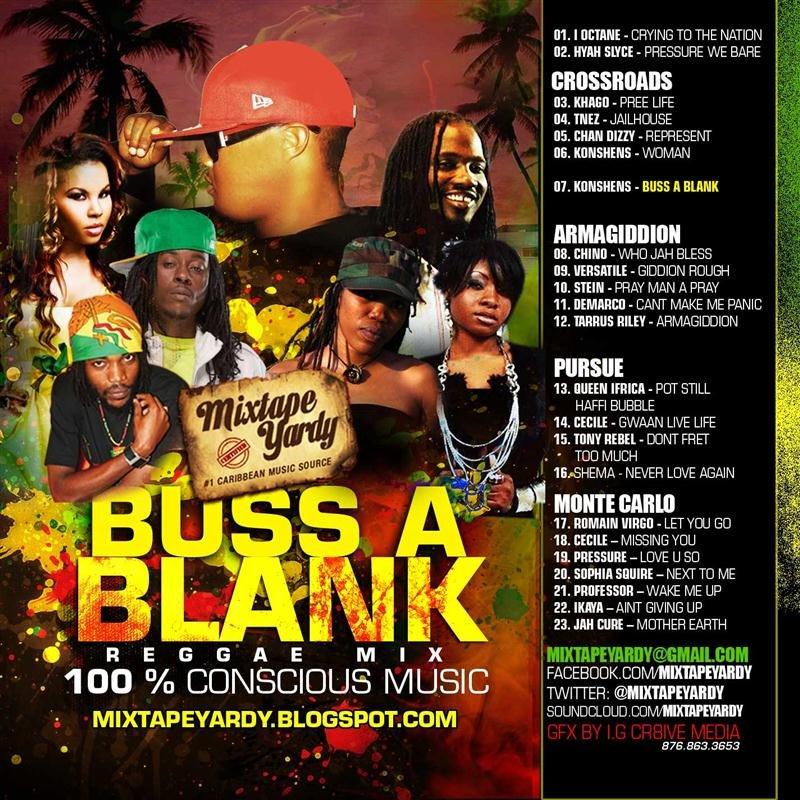 Buss A Blank - Reggae Mix 2011 | United Reggae