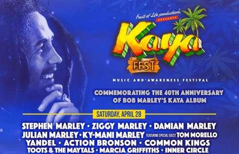 Reggae news: Kaya Fest 2018